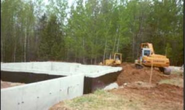 Nebel Construction Concrete Foundations