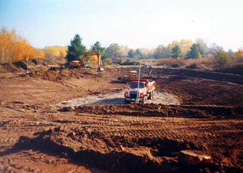 Nebel Construction Landscaping Pond