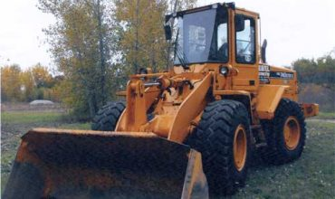 Nebel Construction Equipment End Loader