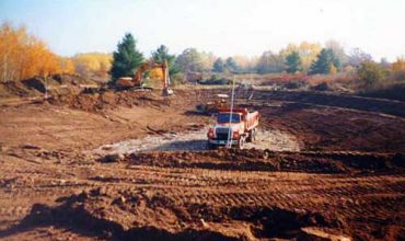 Nebel Construction Landscaping Pond