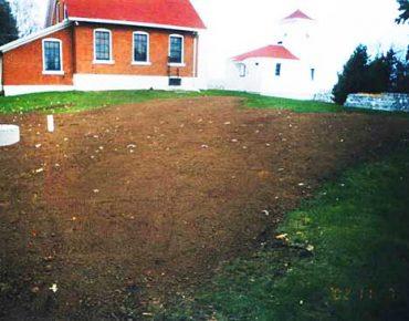 Nebel Construction Sanitary Mound System
