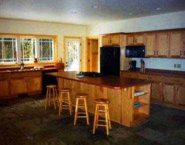 Nebel Construction Company custom kitchen