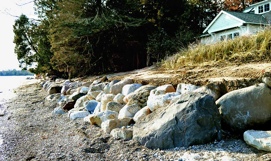 Nebel Construction Door County Shoreline Access, Protection, Retaining Walls