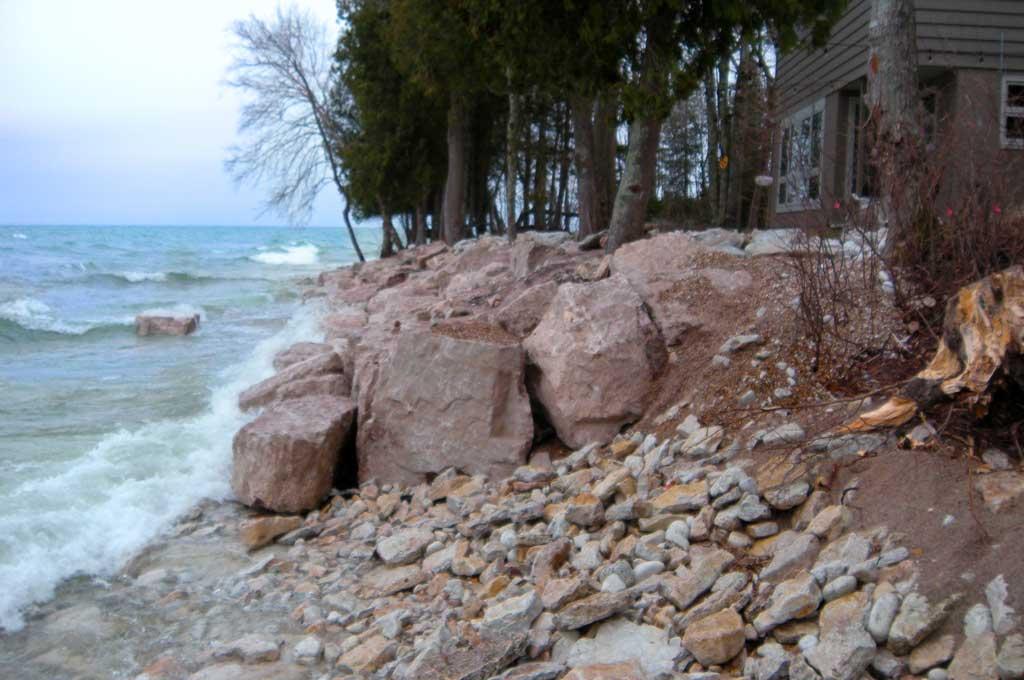 Door County Shoreline Protection by Nebel Construction